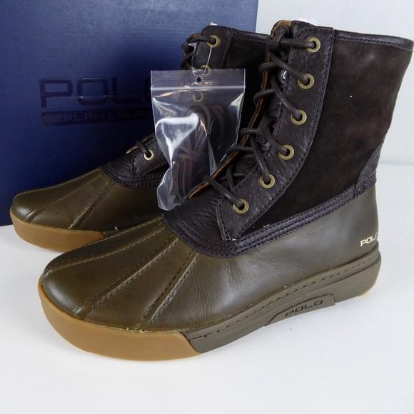 Polo Ralph Lauren Declan Leather Duck